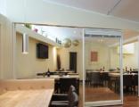 """« Поставка под """"ключ"""" изделий из Алюминия и Стекла: Остекление фасадов, Входные группы, Двери, Перегородки, Окна »."""
